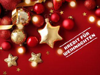 Kredit für Weihnachten
